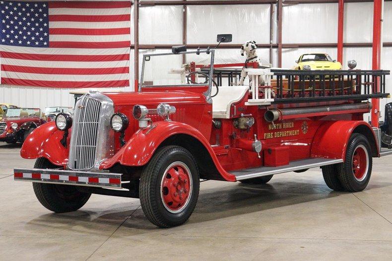 1936 dodge fire engine k 61v 3 ton truck