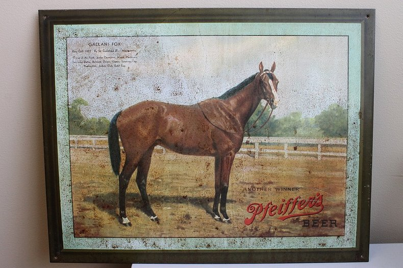 Pfeiffer s beer horse gallant fox