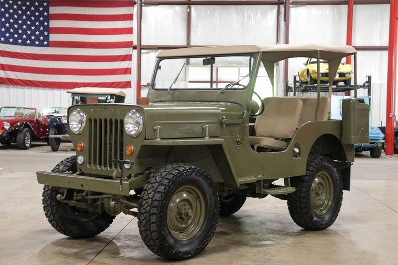 1953 willys jeep cj3b