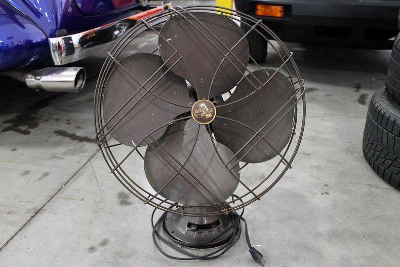 Emerson electric antique fan