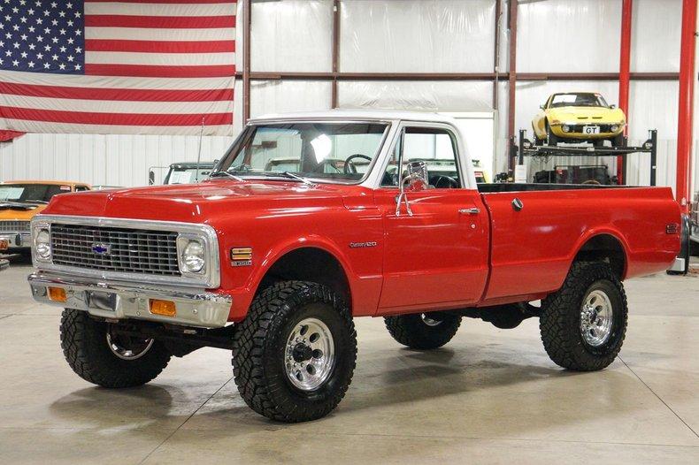 1972 chevrolet k 20 custom