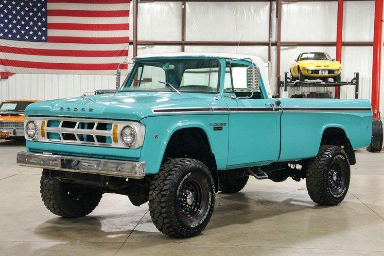 1968 dodge 2500 camper special