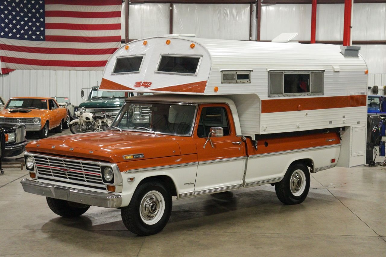 1969 ford f250 camper special