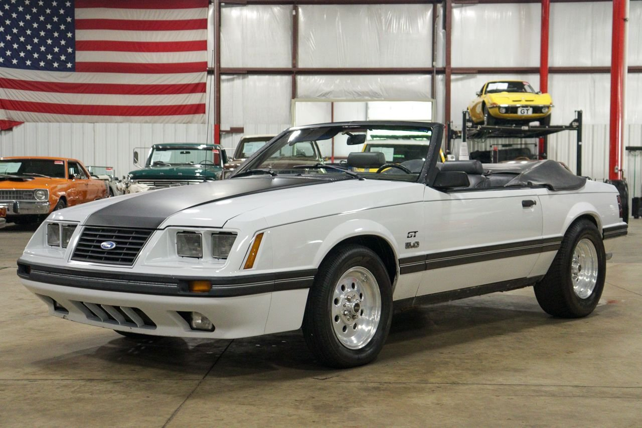 1984 ford mustang gt 5 0