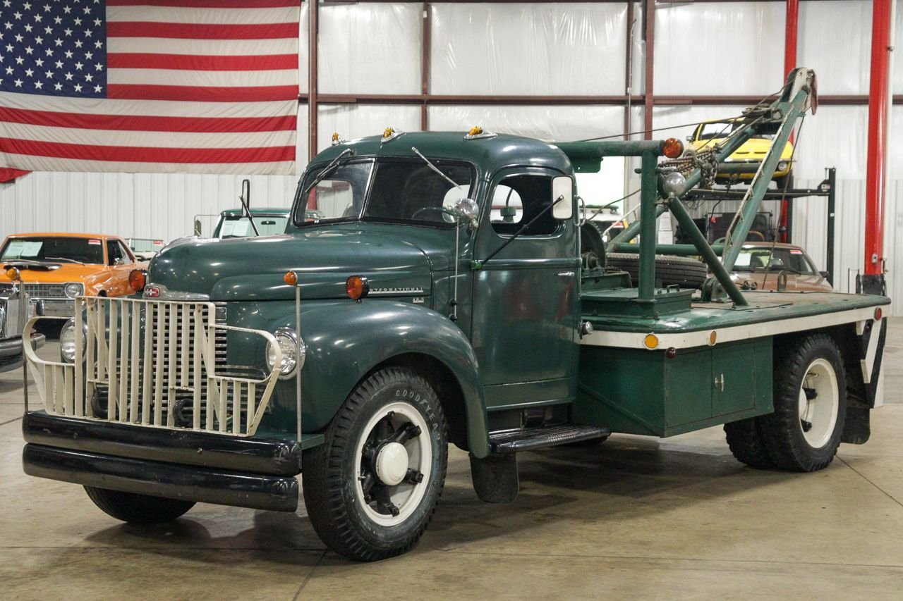 1948 international kb 5 tow truck