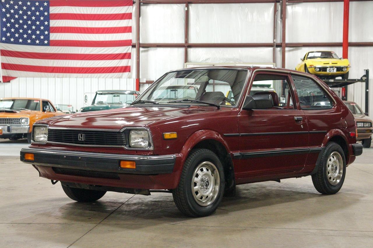 1983 honda civic 1500dx