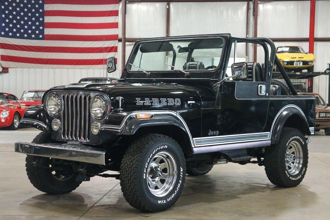 1981 jeep cj 7 laredo