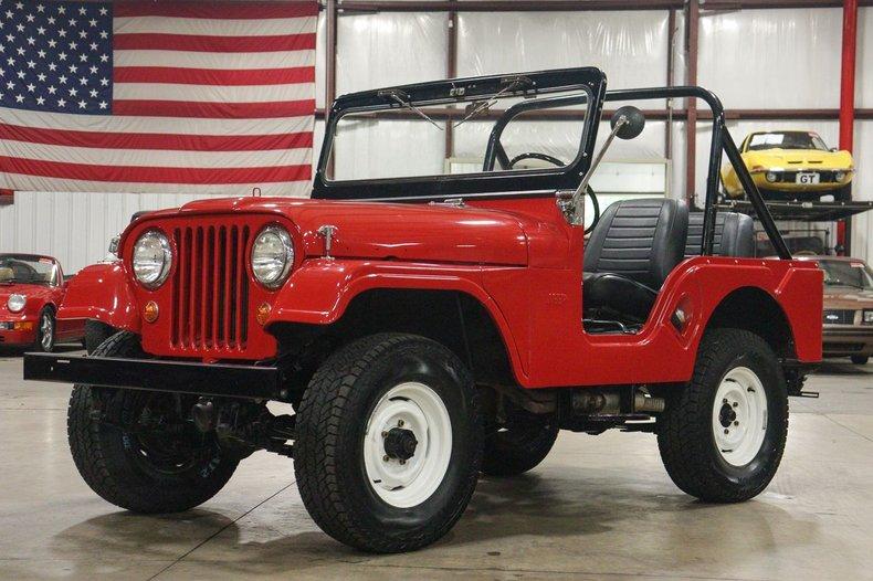 1967 kaiser willys jeep cj5