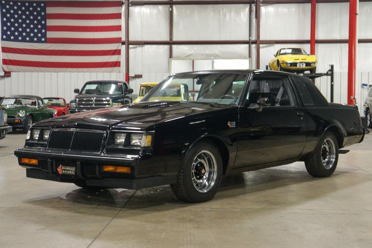 1986 buick grand national t type
