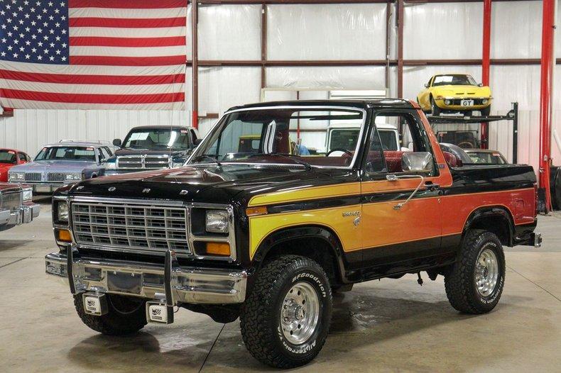 1981 ford bronco free wheeling