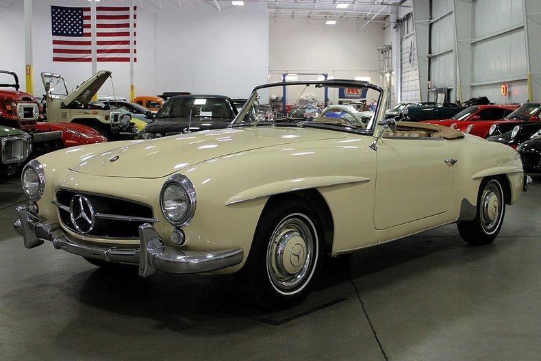 1957 mercedes benz 190sl