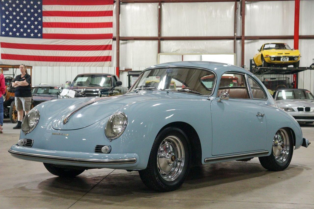 1959 porsche 356 1600 super coupe