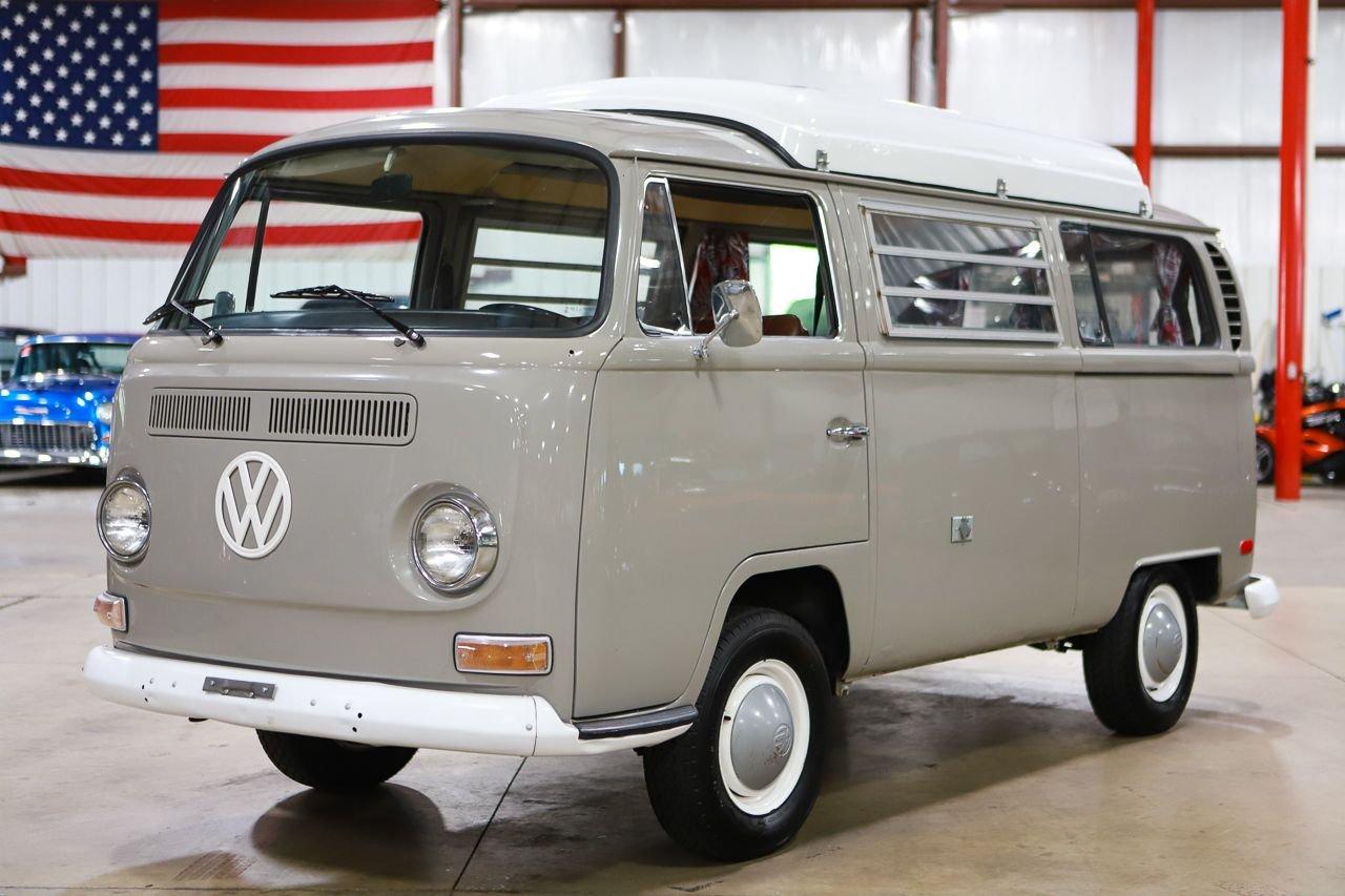 1970 volkswagen dormobile camper