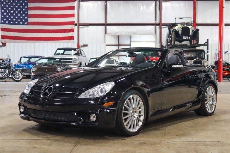 2006 mercedes benz slk55 amg