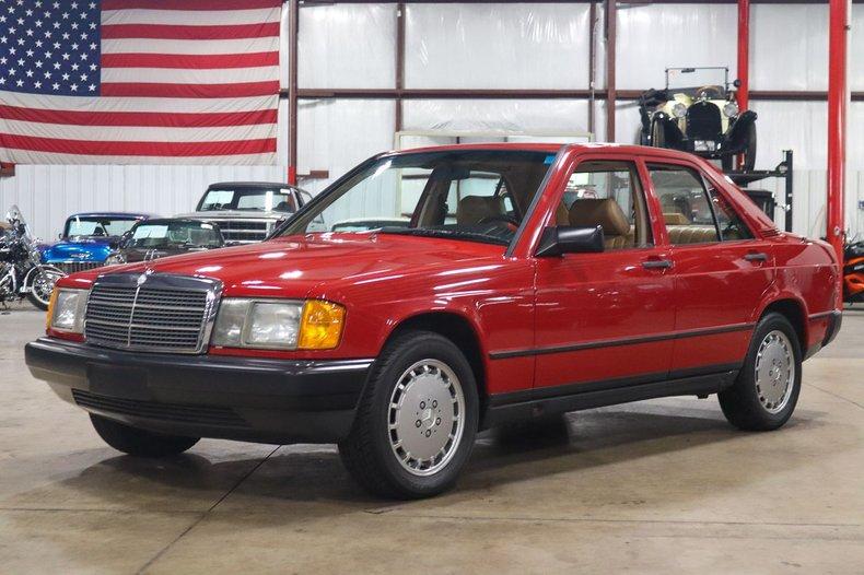 1988 mercedes benz 190e
