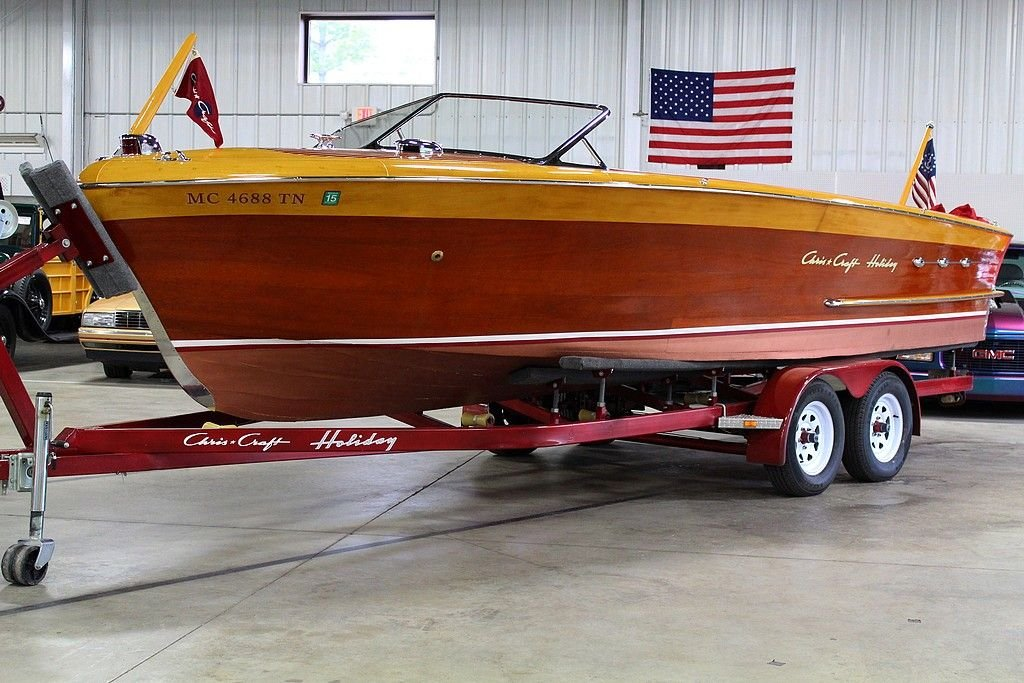 1953 chris craft 24 ft holiday