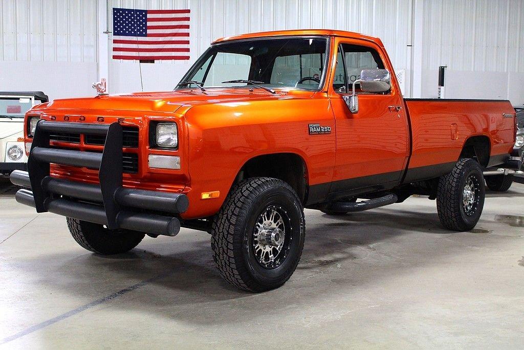 1992 dodge 3 4 ton pickup