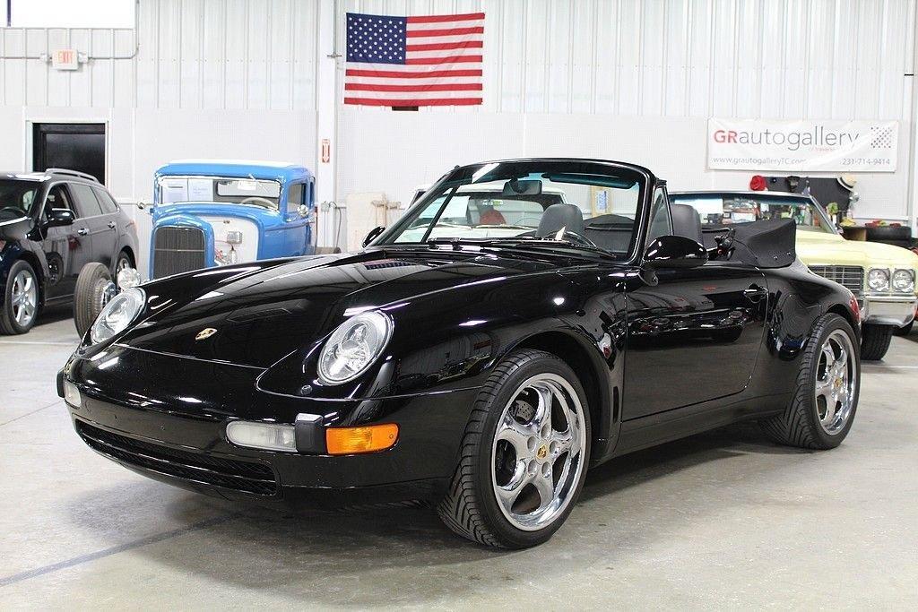 1998 porsche 911 993 carrera cabriolet