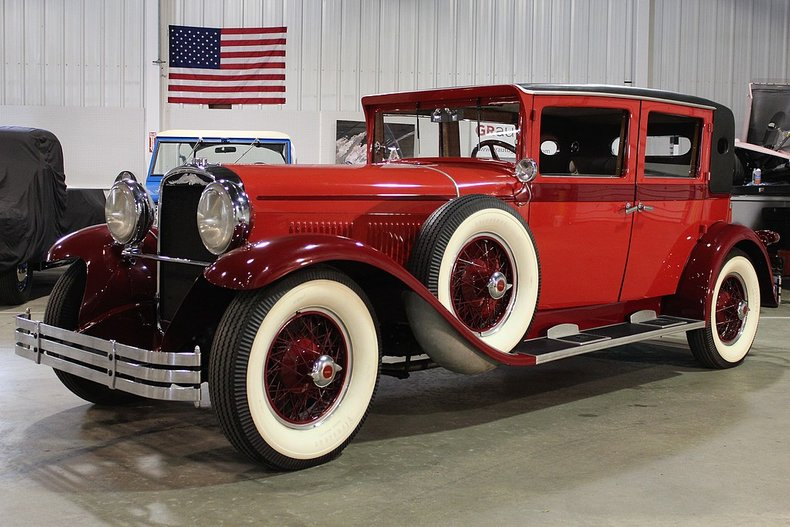1929 kissel white eagle