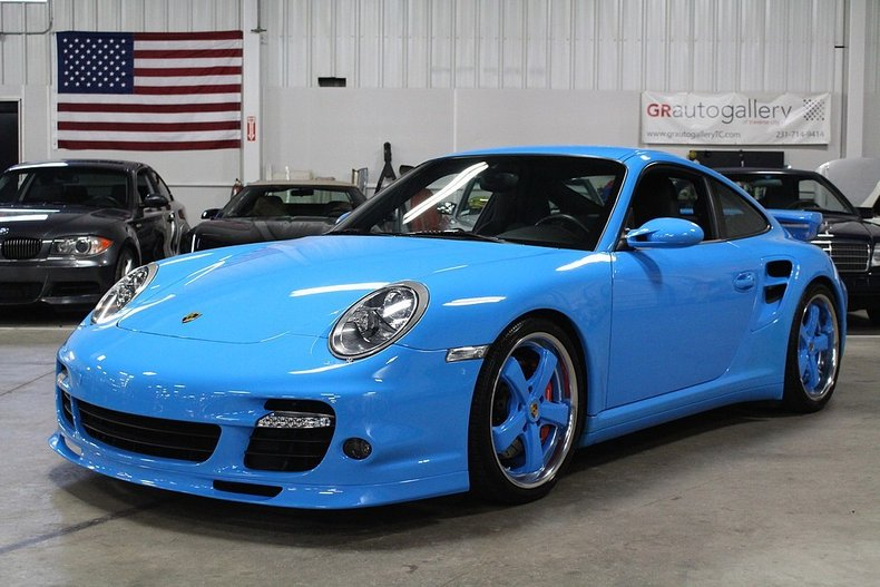 2009 porsche 911 turbo for sale 71301 mcg. Black Bedroom Furniture Sets. Home Design Ideas