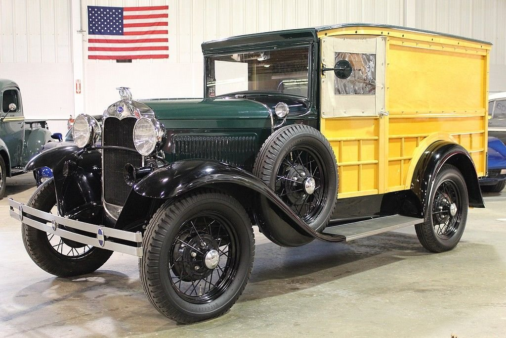 1930 ford model a special delivery