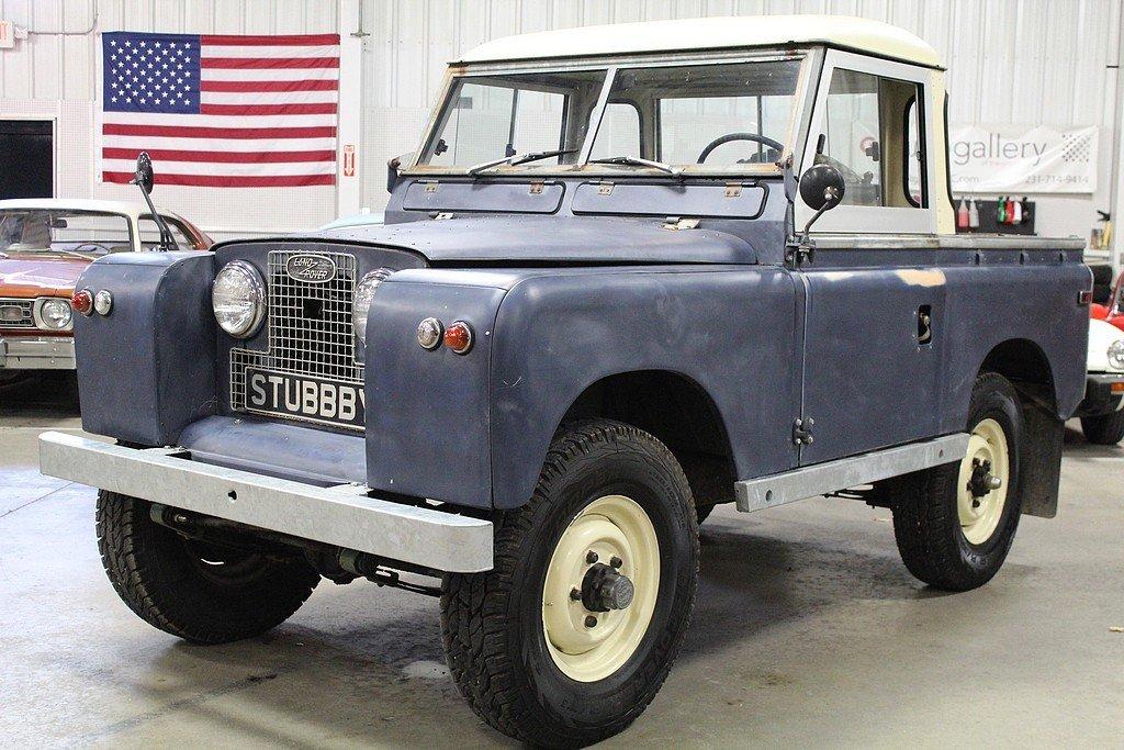 1960 land rover series iia pickup