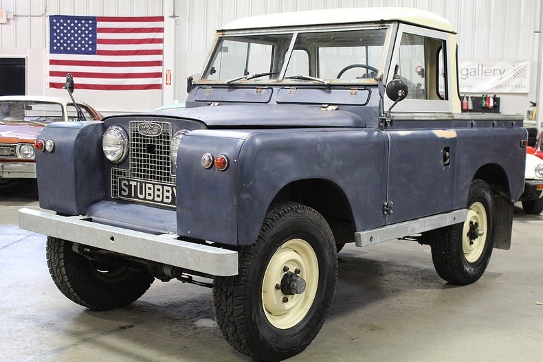 1960 land rover series iia pickup