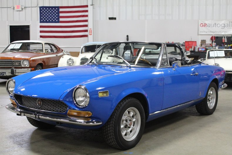 1972 Fiat Spider For Sale