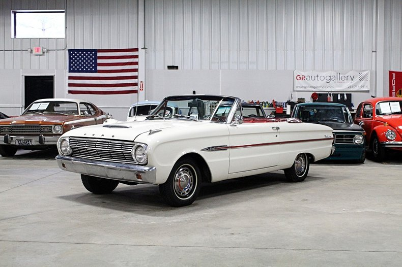 1963 ford falcon convertible futura