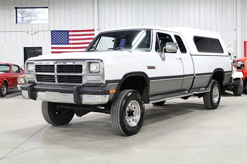 1993 dodge 3 4 ton pickup
