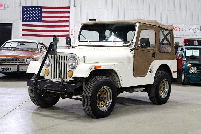 1970 jeep cj 5