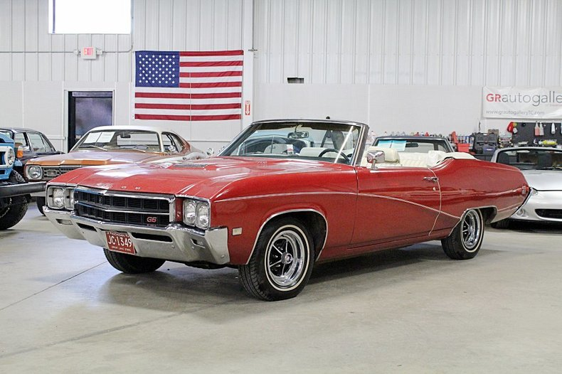1969 Buick Gran Sport 400 Convertible For Sale