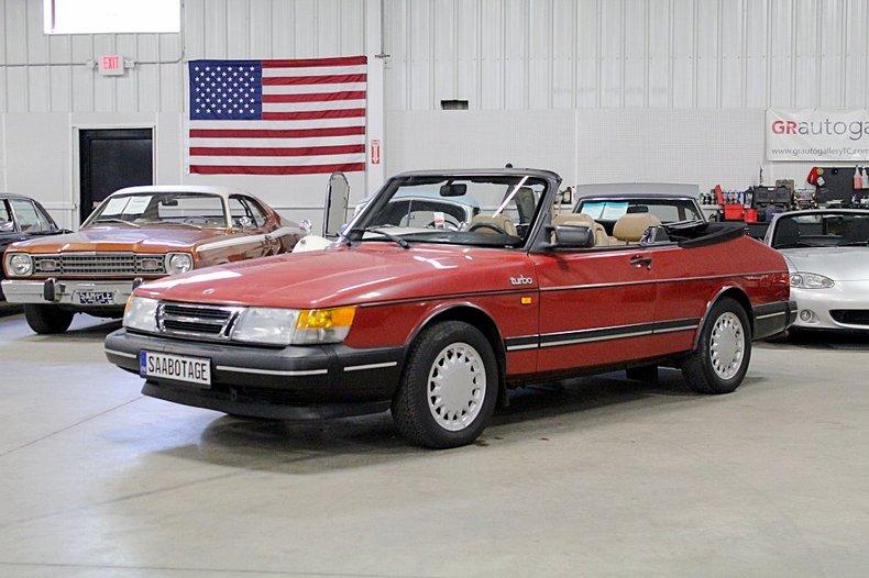 1988 saab 900 turbo cabriolet