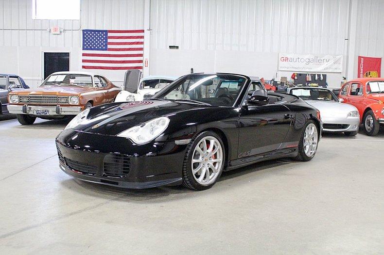 2004 porsche 911 c4s cabriolet