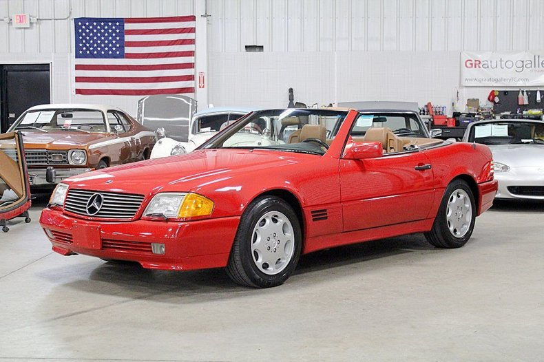 1993 mercedes benz sl500