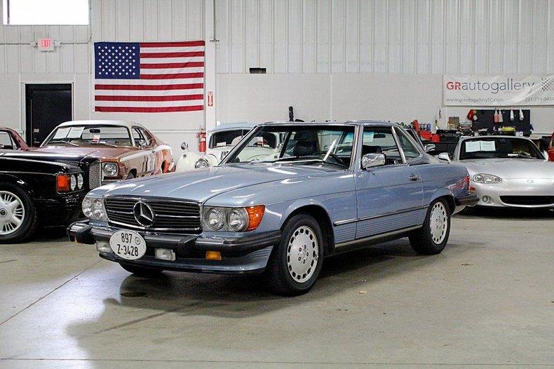 1987 mercedes benz sl560 convertible