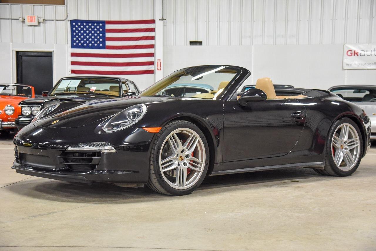 2013 porsche 911 c4s cabriolet