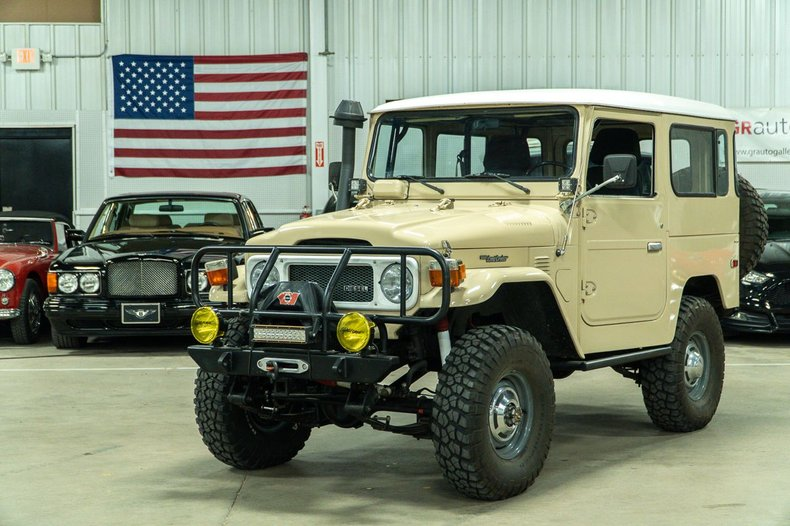 1981 toyota land cruiser bj 42