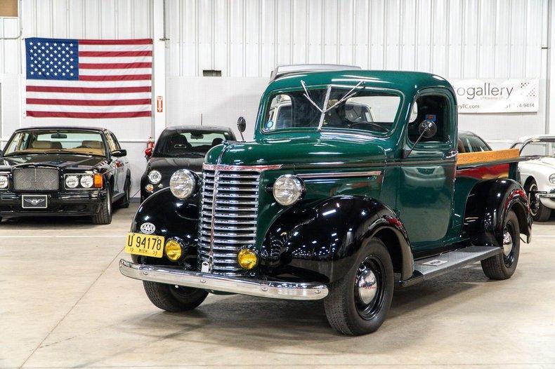 1939 chevrolet 1 2 ton pickup