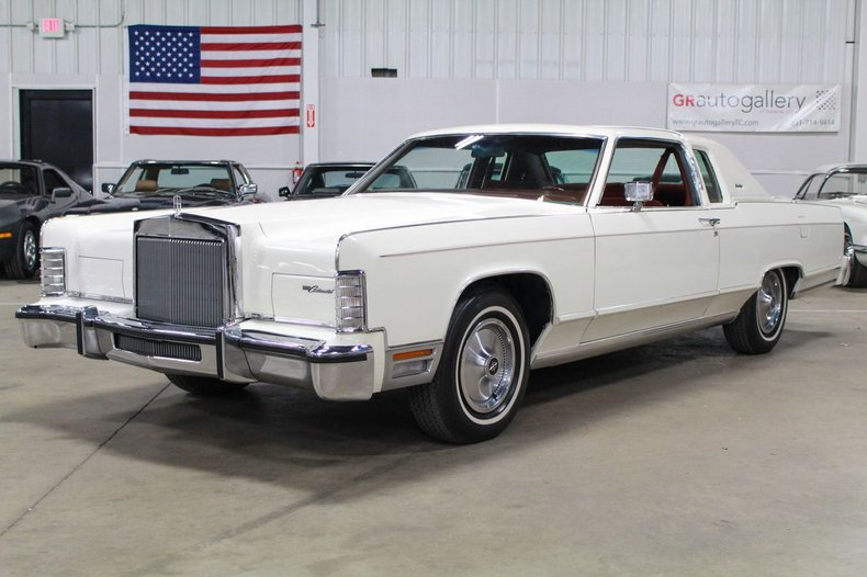 1979 lincoln continental town coupe