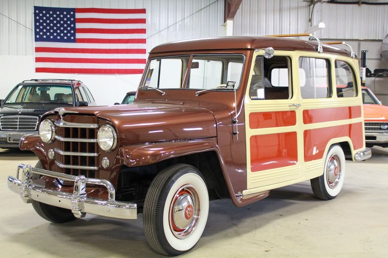 1950 willys utility wagon