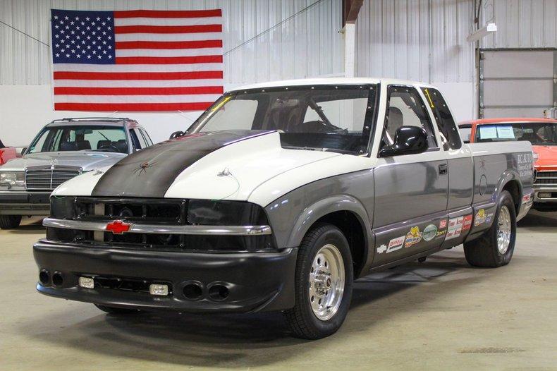 2000 chevrolet s 10 drag truck