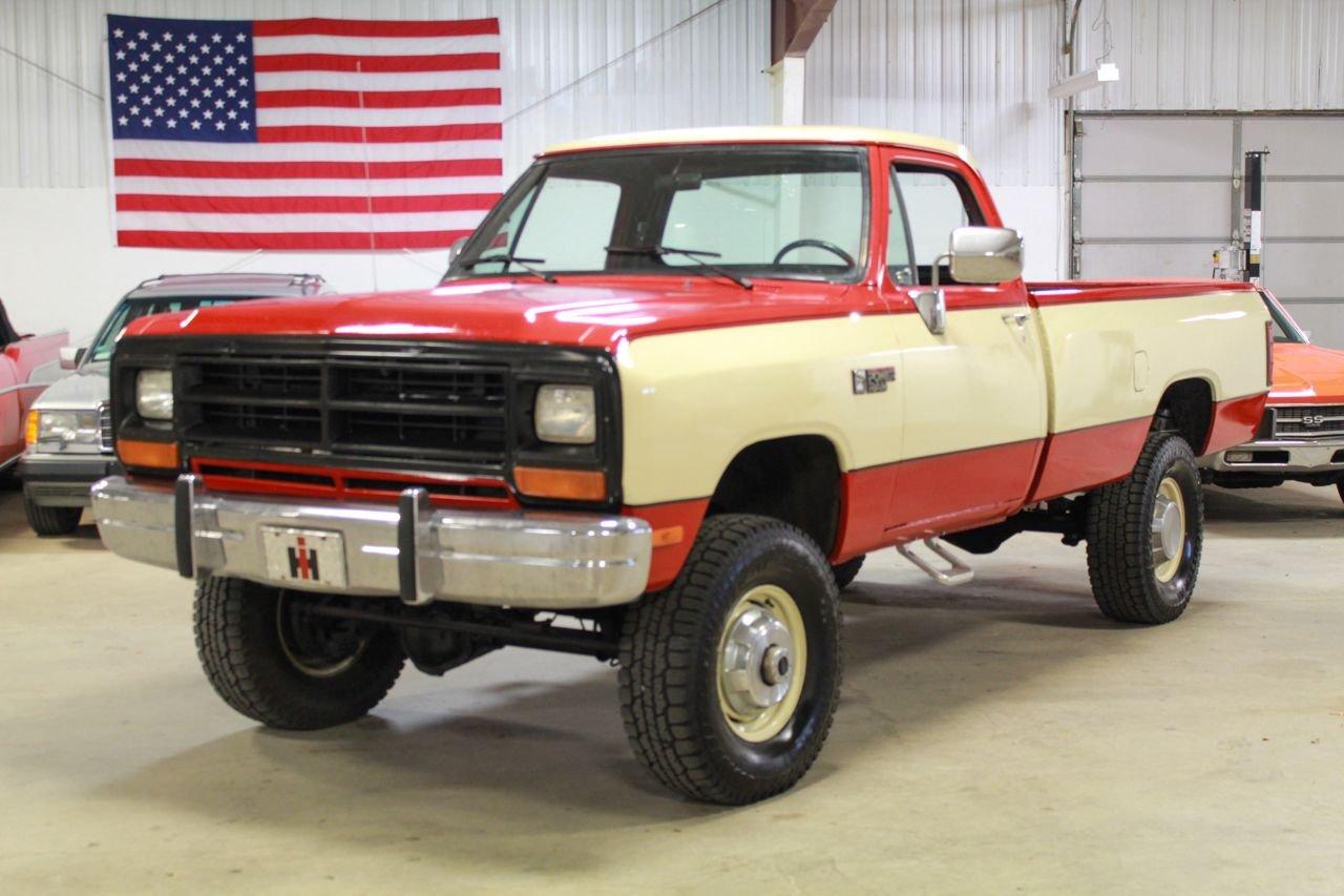 1990 dodge 3 4 ton pickup