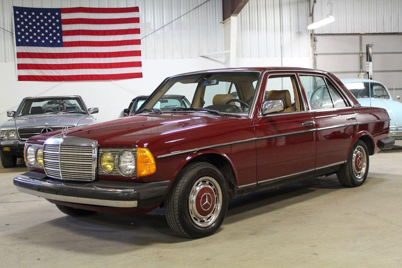 1983 mercedes benz 240d