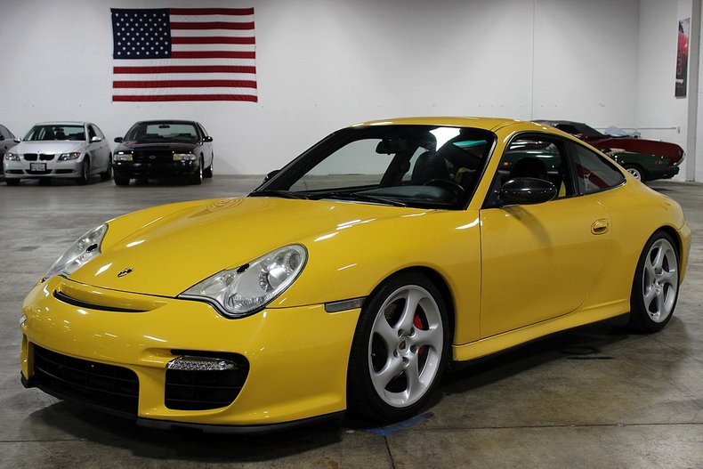 2003 porsche 911 996 carrera 4s