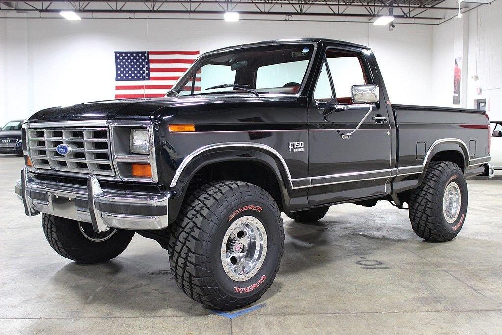 1986 ford f150 lariat