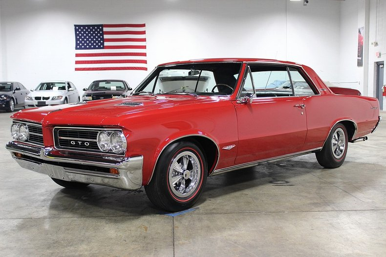 1964 pontiac gto tri power 4 speed