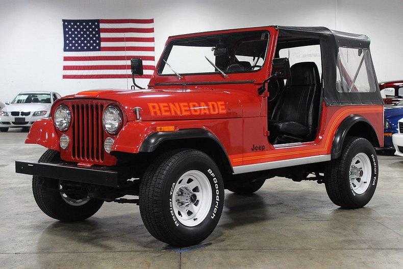 1986 jeep cj 7 renegade