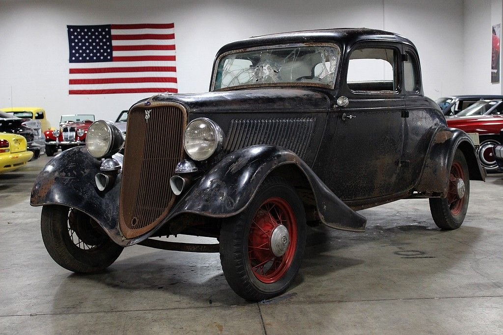 1933 ford deluxe coupe