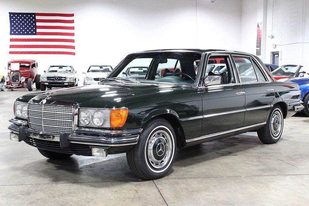 1973 mercedes benz 450 se